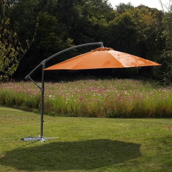 Acheter Grand Parasol Rectangulaire Inclinable | Le moins cher